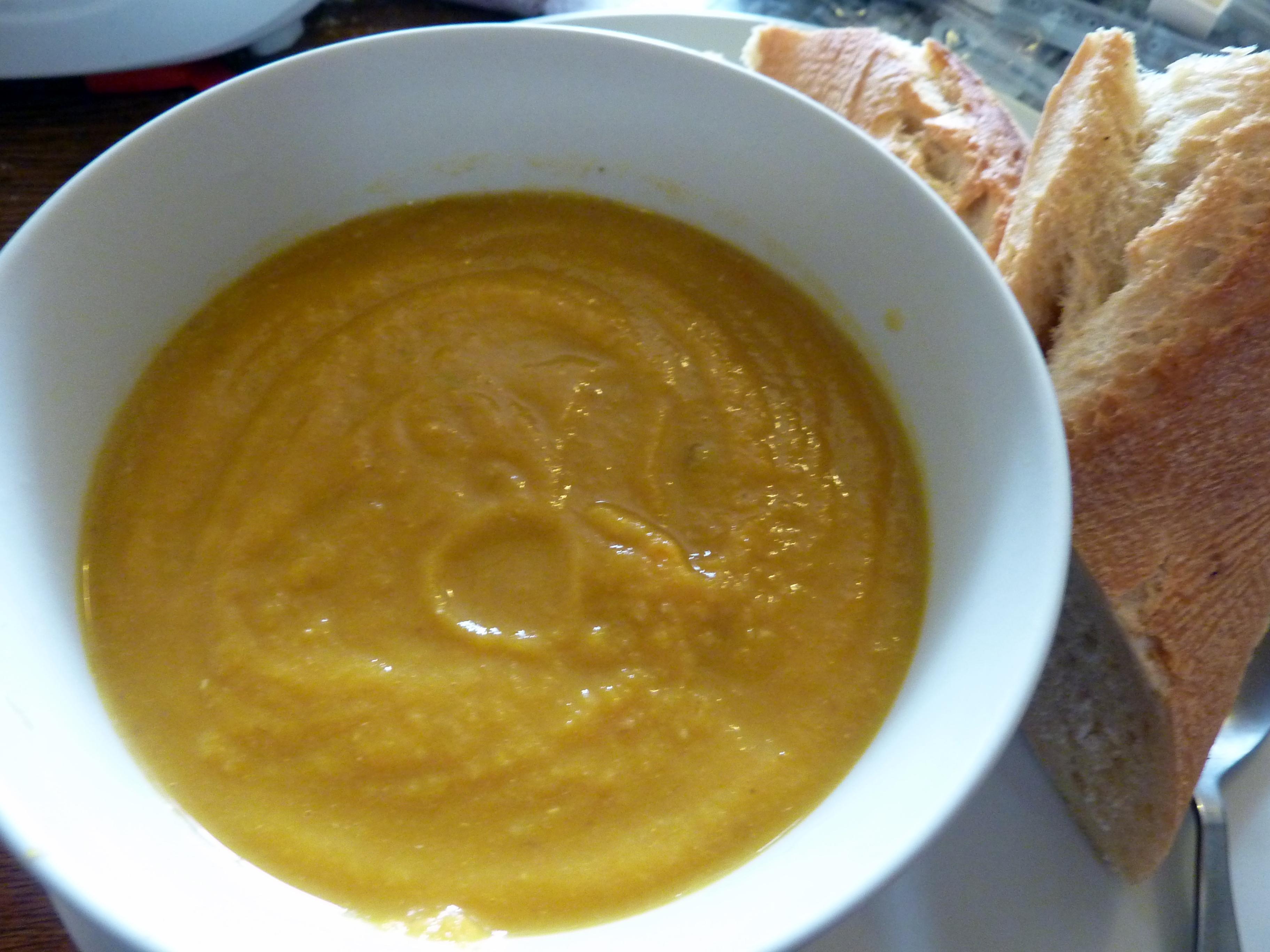 Carrot and Lentil Soup | GreedyRosie's Dinner Blog